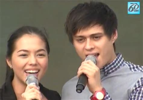 julia montes and enrique gil julia montes and enrique gil sing yakap at grand