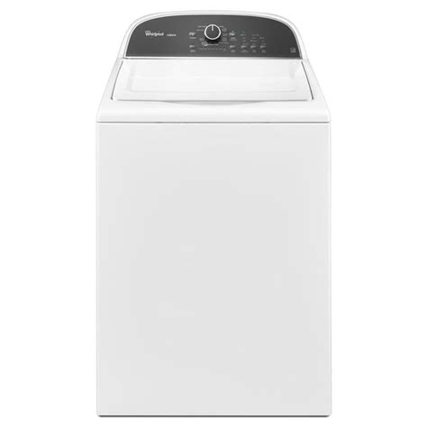 shop whirlpool cabrio 3 8 cu ft high efficiency top load washer white energy star at lowes com