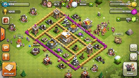 clash of clans layout strategy level 5 clash of clans strategy guide tapscape