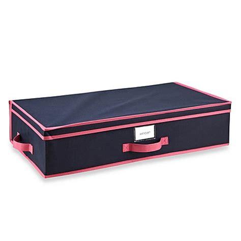 under bed storage box the macbeth collection under the bed storage box in navy