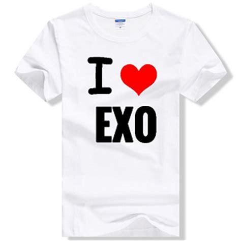 T Shirt Logo Exo K Pop B C exo merchandise kpopmerchandiseworld
