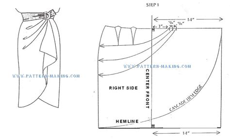 pattern maker salary in sri lanka draft sarong skirt sascade 1 pattern making com