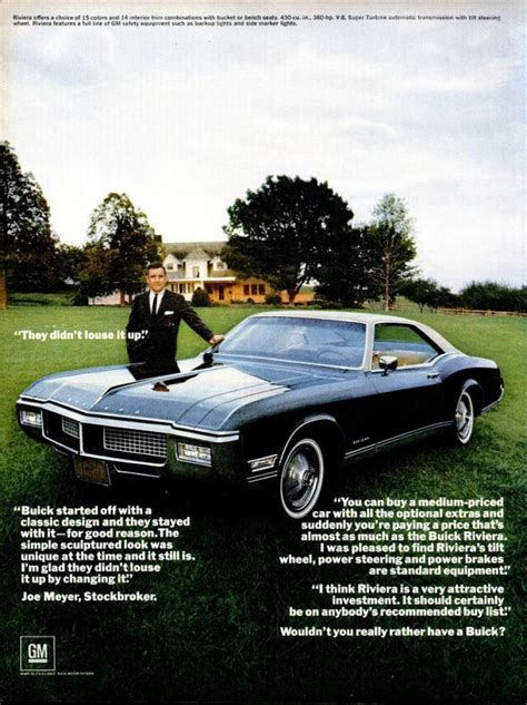 buick advertising 25 best ideas about buick riviera on