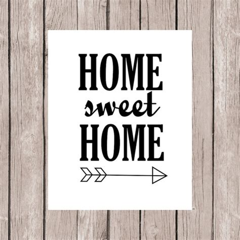 Home Decor Quote Items Similar To Quote Printable Printable Quote Home Decor Home Sweet Home Quote With
