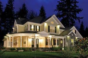 big porch house plans spacious modern farmhouse style home with large