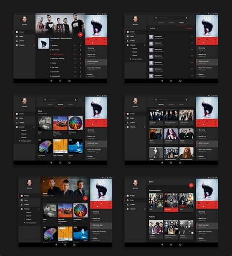 android layout ui exle 15 free android ui kits for mobile app designers naldz