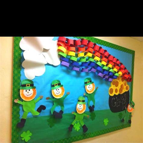 st for preschool 36 best st s day bulletin board ideas images on