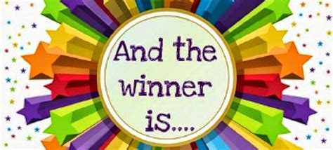 The Winner Has Been Chosen by Lilo Abernathy The Bookcase Big Giveaway Winners