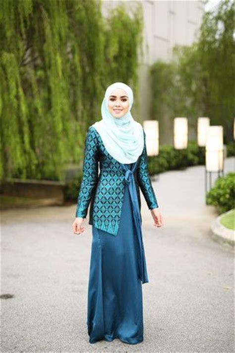 41752 Blue Shoulder Blouse Blouse Biru 17 best images about baju songket on seasons and models