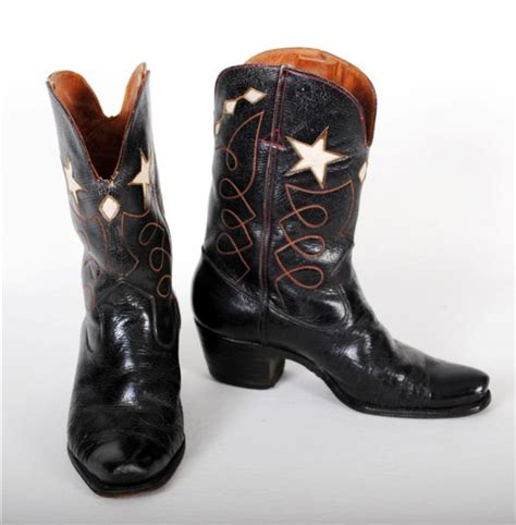 black cowboy boots for vintage black cowboy boots with