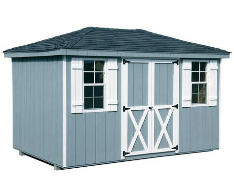 Types Of Roofs For Sheds by Dura Temp Siding Hip Roof Style Sheds Sheds By Siding