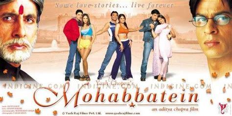 film india mohabbatein mohabbatein 2000 mohabbatein 2000 shahrukh shah
