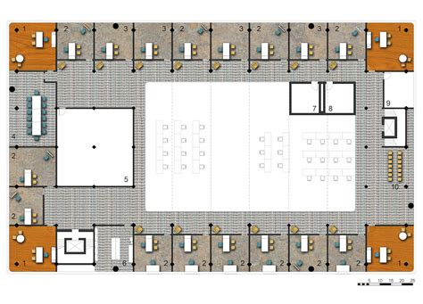 Entryway Locker Plans Marked Potential District Health Center 1 Hidden City