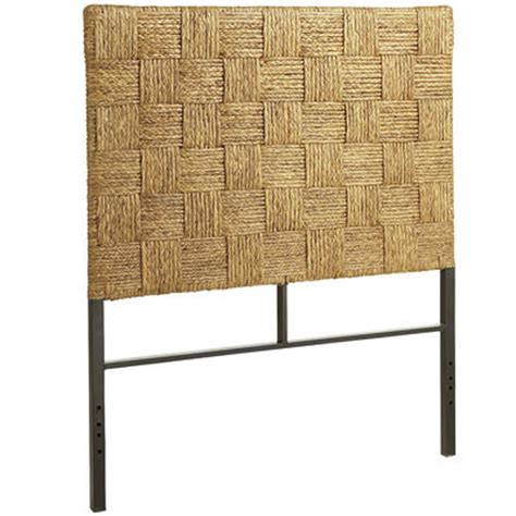 Seagrass Block Headboard Twin Pier 1 Imports