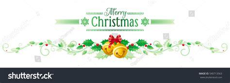 merry christmas happy  year horizontal stock vector  shutterstock