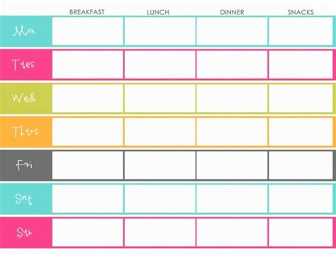 printable meal prep planner 7 ways to stop mindless eating skinny fitalicious