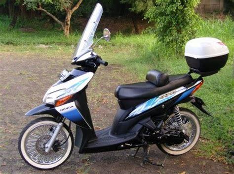Windshield Motor Vario 110 modifikasi honda vario motosport center