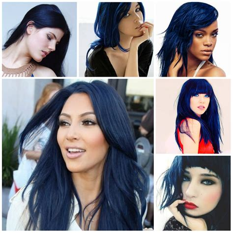 hairstyles and color for 2016 blue black hair color ideas 2016 haircuts hairstyles