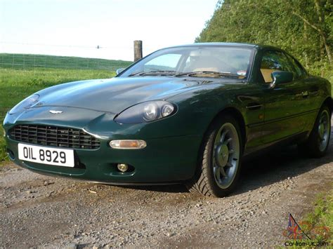 british racing green aston martin db7 british racing green