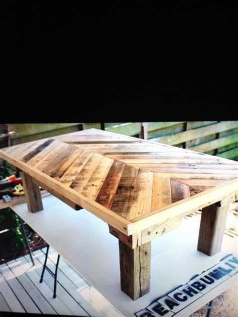 Coffee Table Made Out Of Pallets