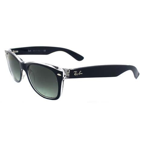 wayfarer matt ban sunglasses new wayfarer 2132 605371 matt blue
