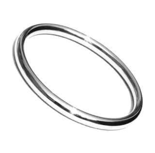 Sikh Kara Plain Bracelet Round Slim, 25 g