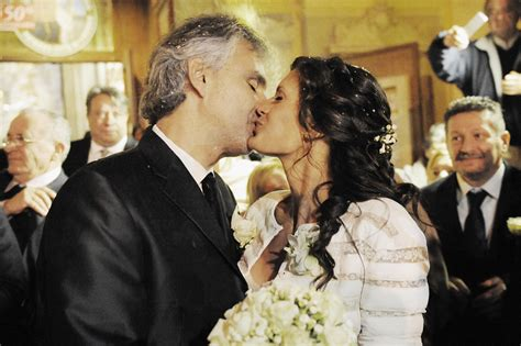 To Wed by Andrea Bocelli Got Married To His Manager And It Was Just