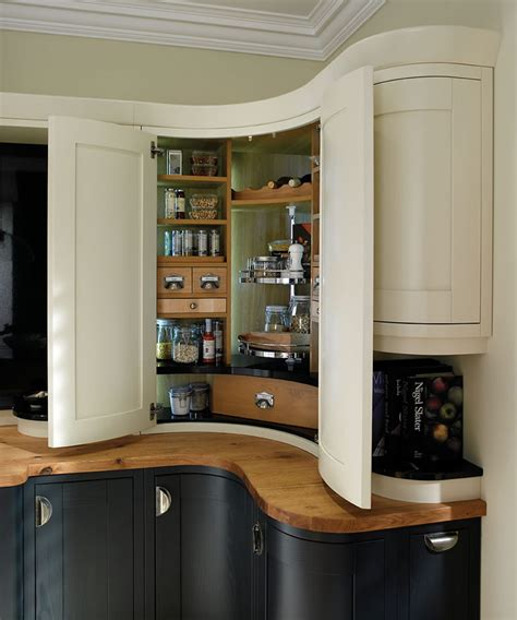 kitchen cabinets pantry units bespoke corner pantry