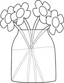 white jar black and white flowers in a jar clip art black and