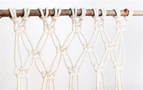 Macrame How To - how to macrame and create a wall hanging
