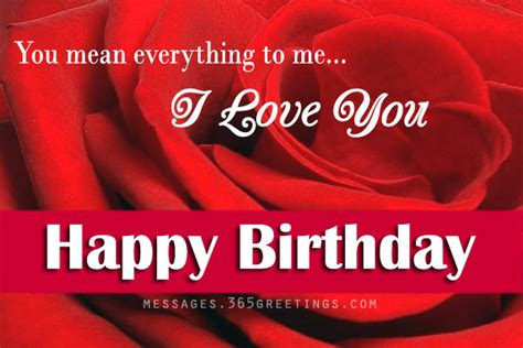 Images Birthday Cards For Lover Love Birthday Messages 365greetings Com