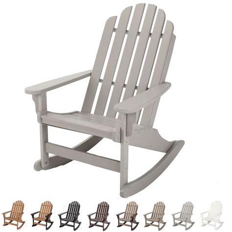 lifetime adirondack chair footrest durawood essential adirondack rocker pawleys island