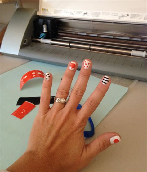 Nail Design Store by Vinyl Nail Decal Tips And Sizing Guidelines Silhouette