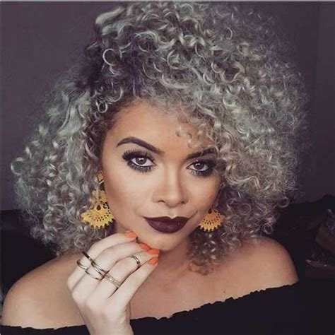 hairstyle for gray thin wavy hair 20 new gray curly hair hairstyles haircuts 2016 2017