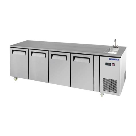 commercial work benches commercial grand true quality four door work bench fridge