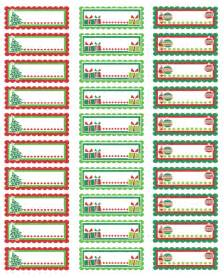 Christmas Address Labels Personalized » Home Design 2017