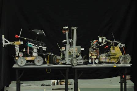 membuat robot pemadam kebakaran kumpulan terdiri daripada pelajar fakulti berbeza yang