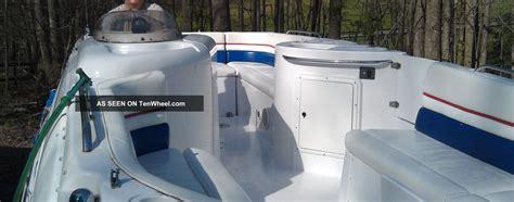 donzi pontoon boat 1998 donzi 235sd