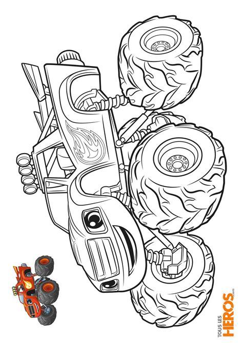 Coloriages Blaze Et Les Monster Machines 224 Imprimer Coloriage De Toute Les Princesse Disney L