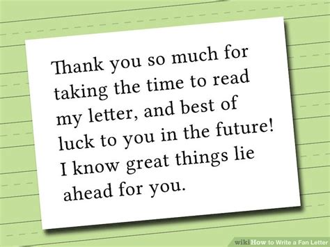 write thank you letter to my 2 easy ways to write a fan letter wikihow