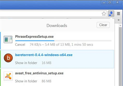 chrome download manager make chrome s download manager use less space in the