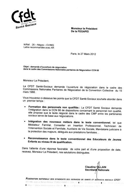Exemple De Lettre Pour Depart Congé Maternité Point Sur Les N 233 Gociations Cc66 Cfdt Adapei 44