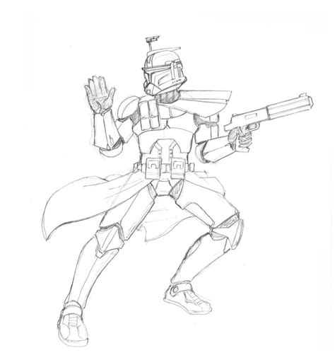 commander fox coloring page star wars commander cody coloring pages