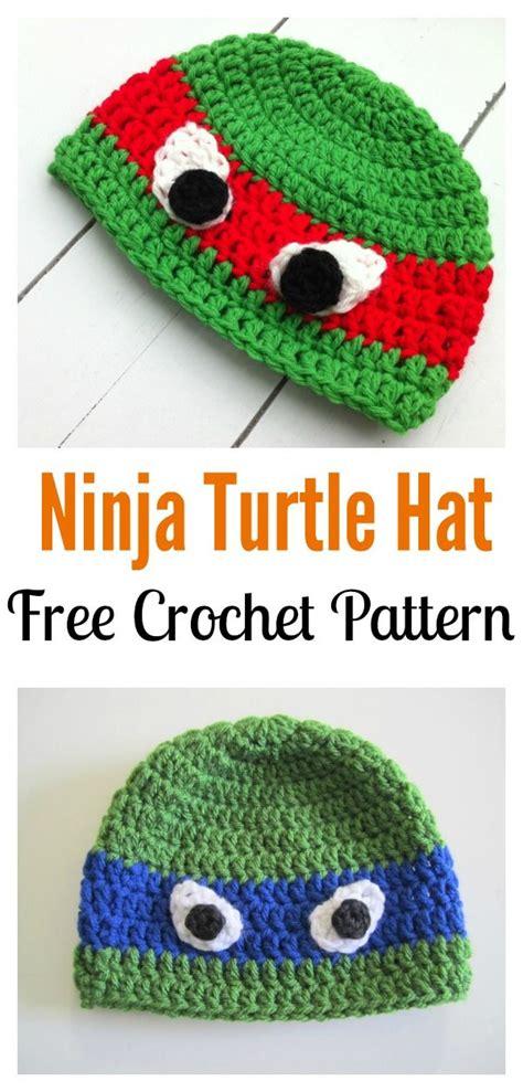free pattern crochet ninja turtle hat de 25 bedste id 233 er inden for crochet ninja turtle p 229