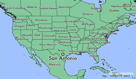 san antonio texas on the map where is san antonio tx san antonio texas map worldatlas