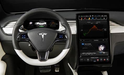 Tesla Interior by 2015 Tesla Model X Interior