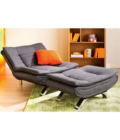 Edo Sofa cum Bed with extra seat & Ottoman   Buy Edo Sofa