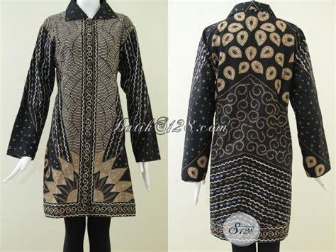 F20217004mot1 Xl Blus Batik Tulis Panjang Atasan Batik Kantor Murah atasan batik busana muslim untuk wanita baju batik wanita
