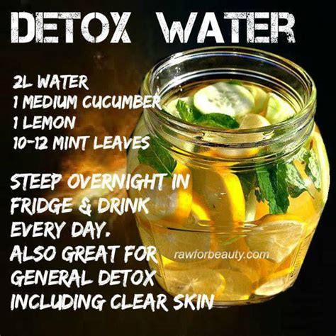 How To Detox Your Naturally With Water by Belly Slimming Detox Water Trusper