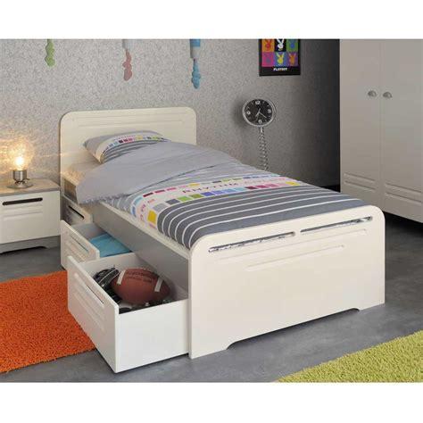 lit avec tiroir de rangement lit rangement 90x190